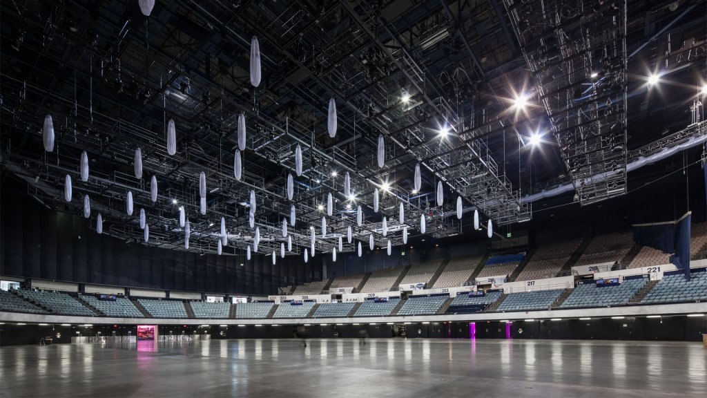 Pacific Room At The Long Beach Arena Long Beach